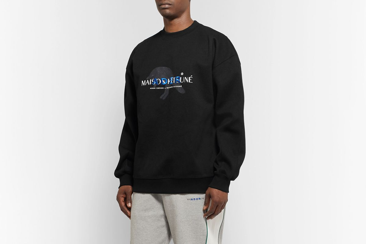 Oversized Logo-Detailed Cotton-Blend Jersey Sweatshirt