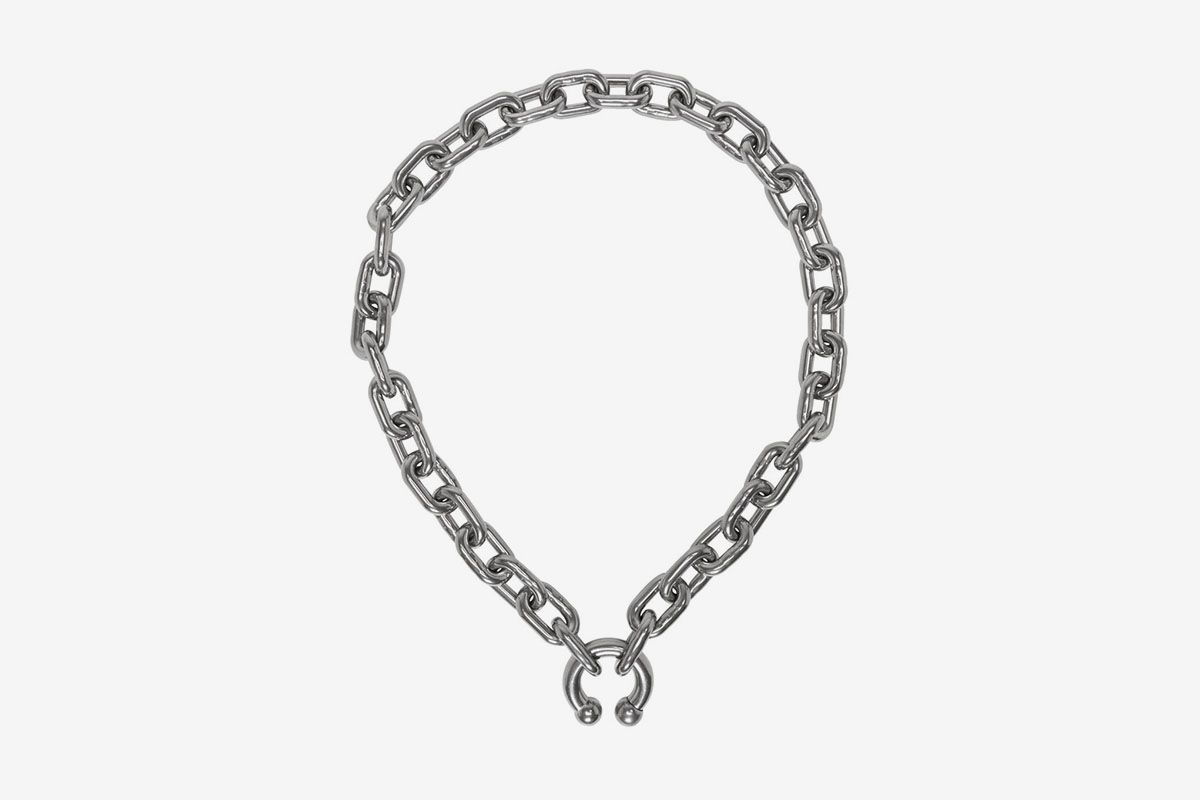 Silver P.A. Necklace