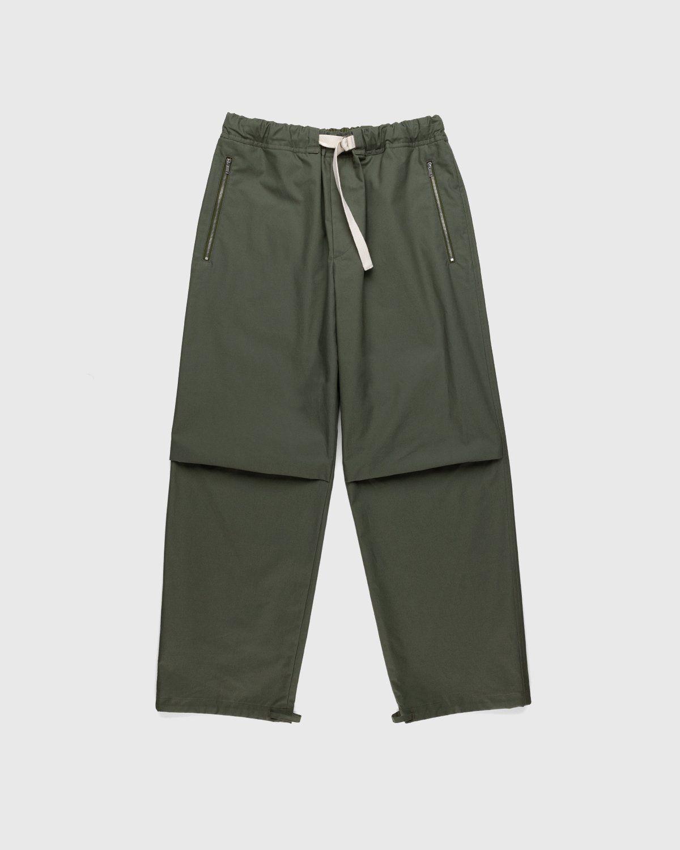 Jil Sander – Cargo Trousers Green - Image 1
