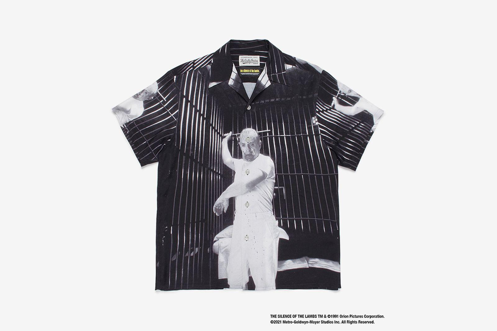 wacko Maria x silence of the lambs shirt