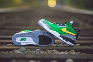 "3bc2d172bc2 This ""Tinker"" Air Jordan 3 Is the University of Oregon s Best PE Yet"