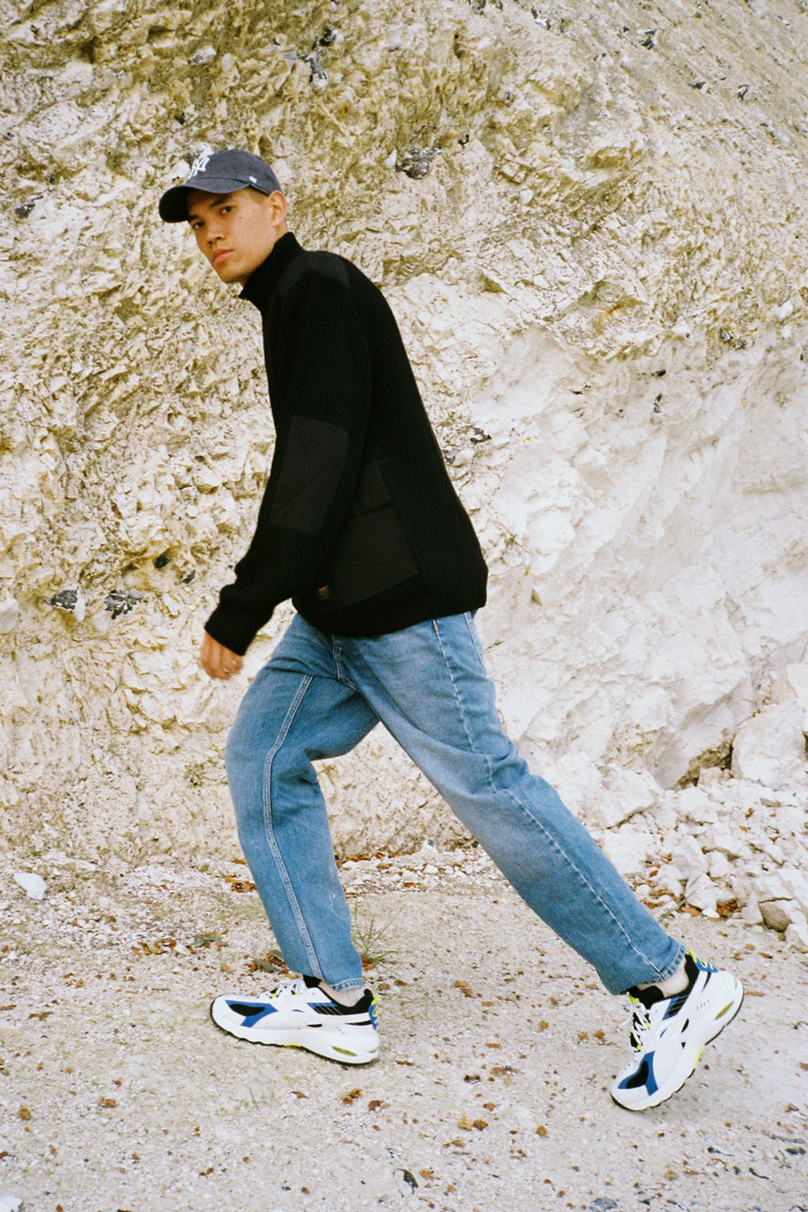 HHV lookbook fw19 New Balance Stüssy barbour