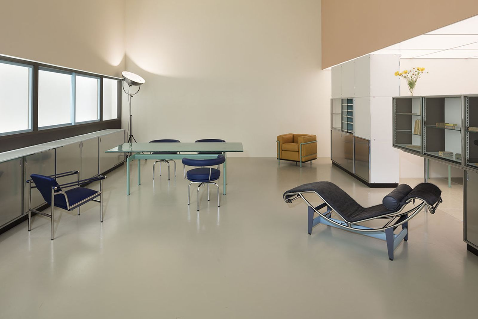 Charlotte Perriand Le Corbusier interior