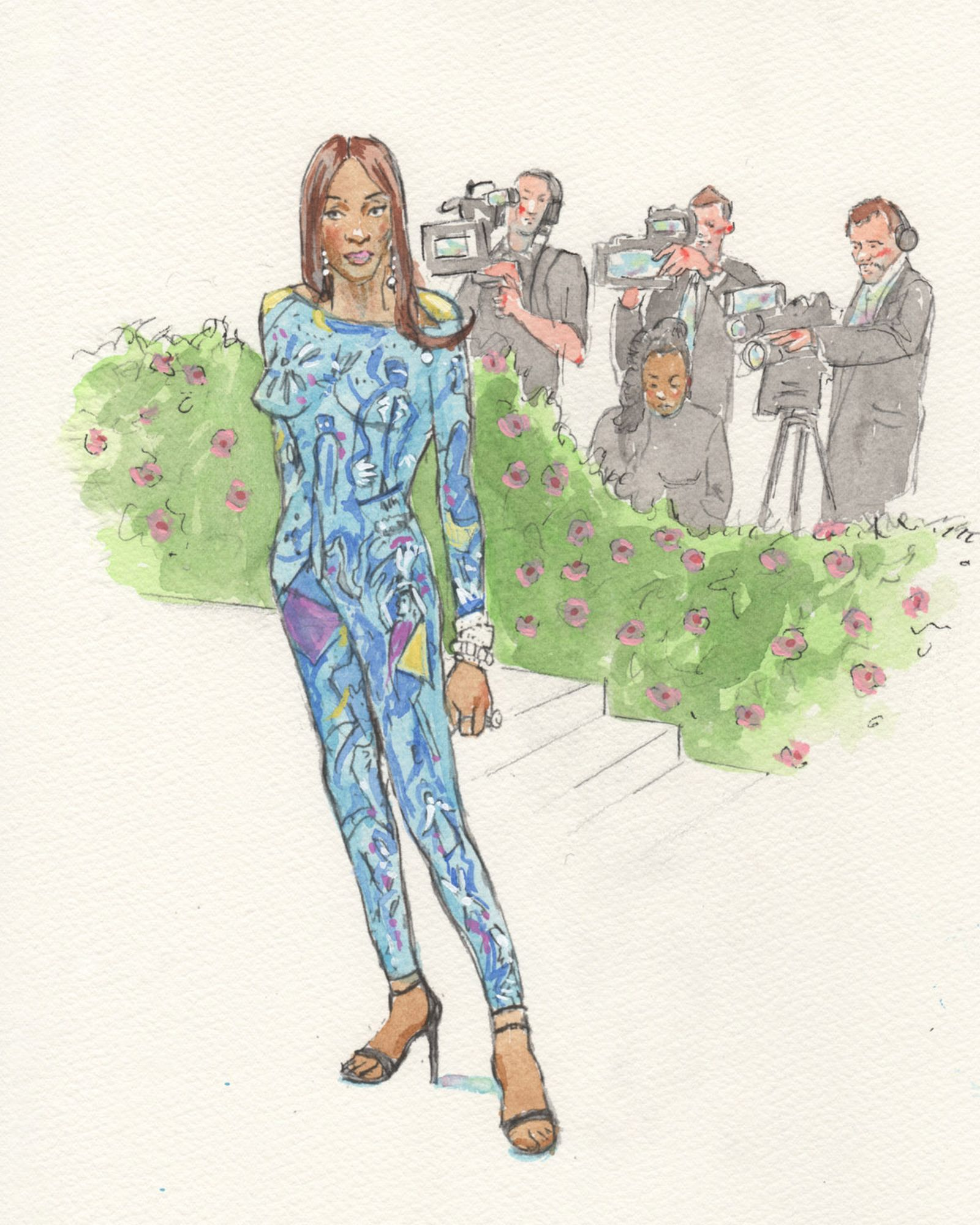 courtroom-sketch-artist-draws-fantasty-met-gala-fits-never-happened-Naomi-Campbell