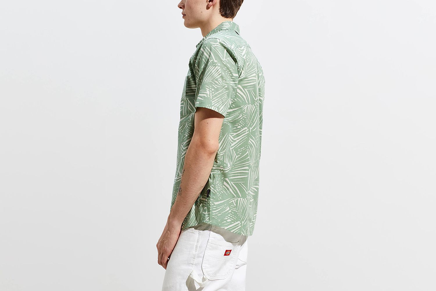 Go-To Short Sleeve Button-Down Shirt