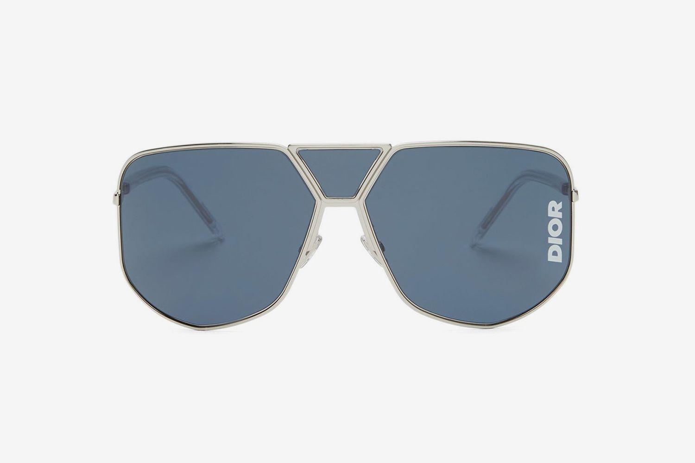 Diorultra Aviator-Style Sunglasses