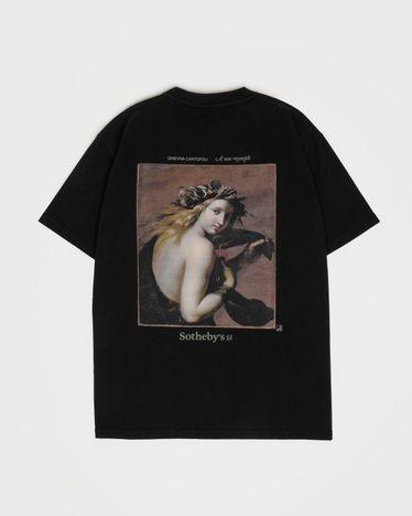 Highsnobiety x Sotheby's - T-Shirt Black Ginevra Cantofoli