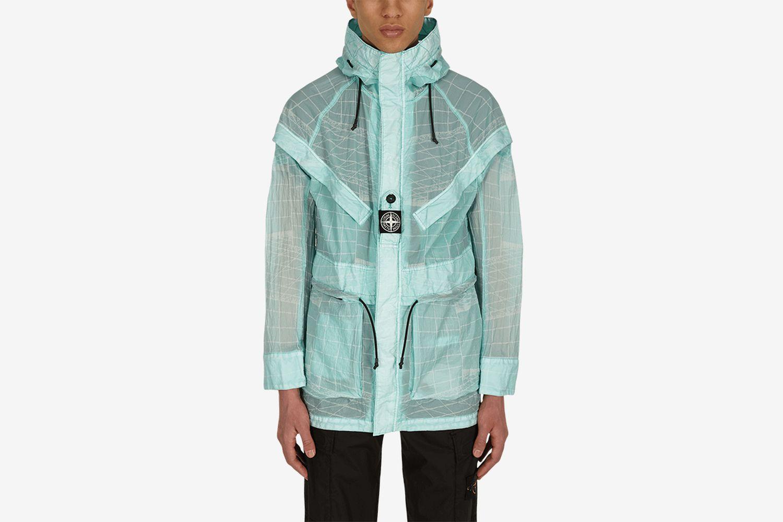 Reflective Grid On Lamy-TC Jacket