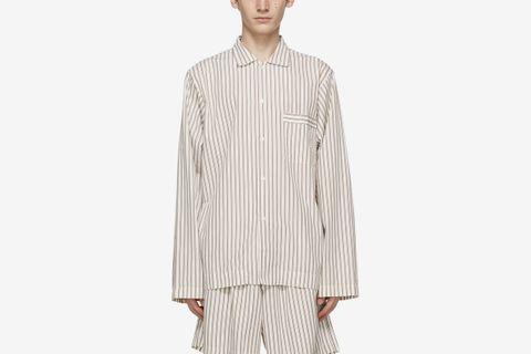 Striped Pyjama Shirt