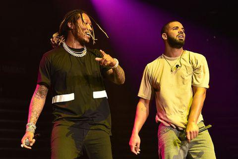 Future and Drake perform at Hot 107.9 Birthday Bash Block Show at Phillips Arena