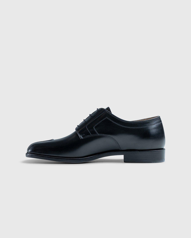 Maison Margiela – Tabi Lace-up Shoes Black - Image 7