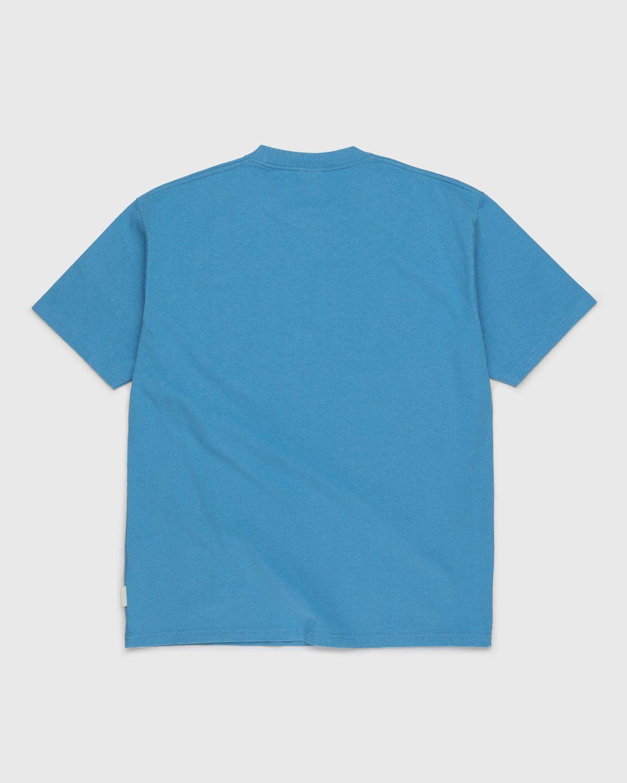 Highsnobiety – Logo T-Shirt Blue - Image 2