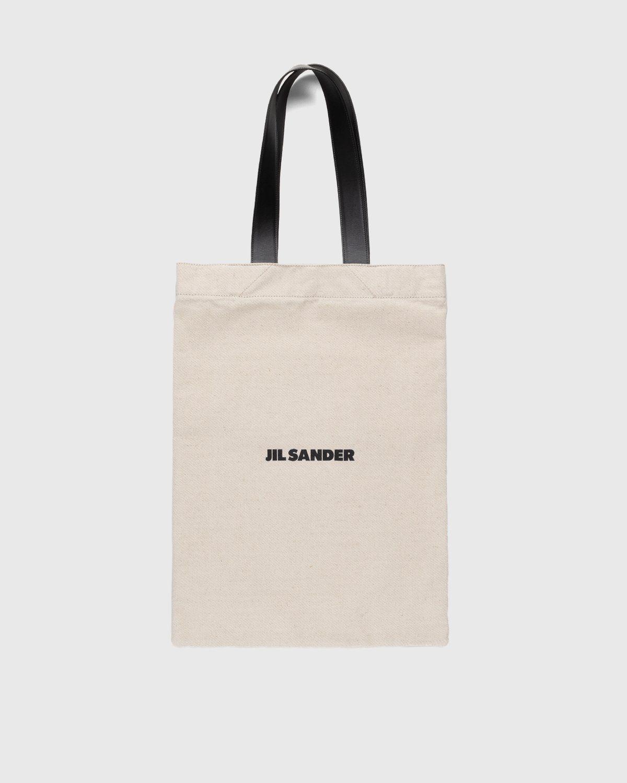Jil Sander – Large Flat Shopper Natural - Image 1