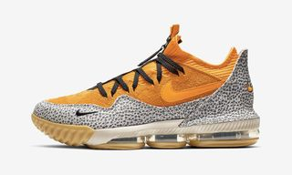 ed8aefda42a3 The   8220 Safari  8221  atmos x Nike LeBron 16 Drops Today