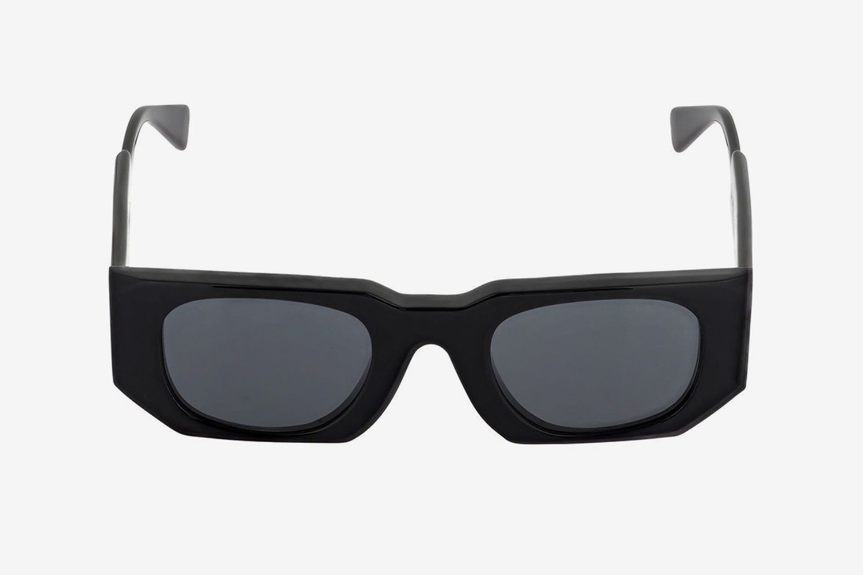 U8 Squared Shiny Acetate Sunglasses