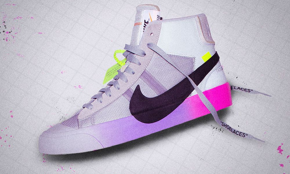 nike blazer off white serena williams raffle