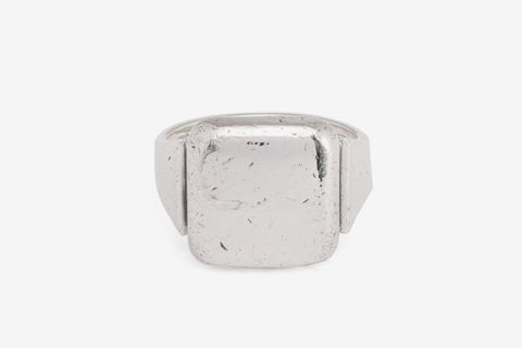 Sterling-silver Signet Ring