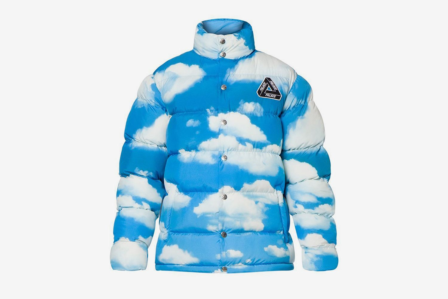 Puffa Jacket Blue Cloud