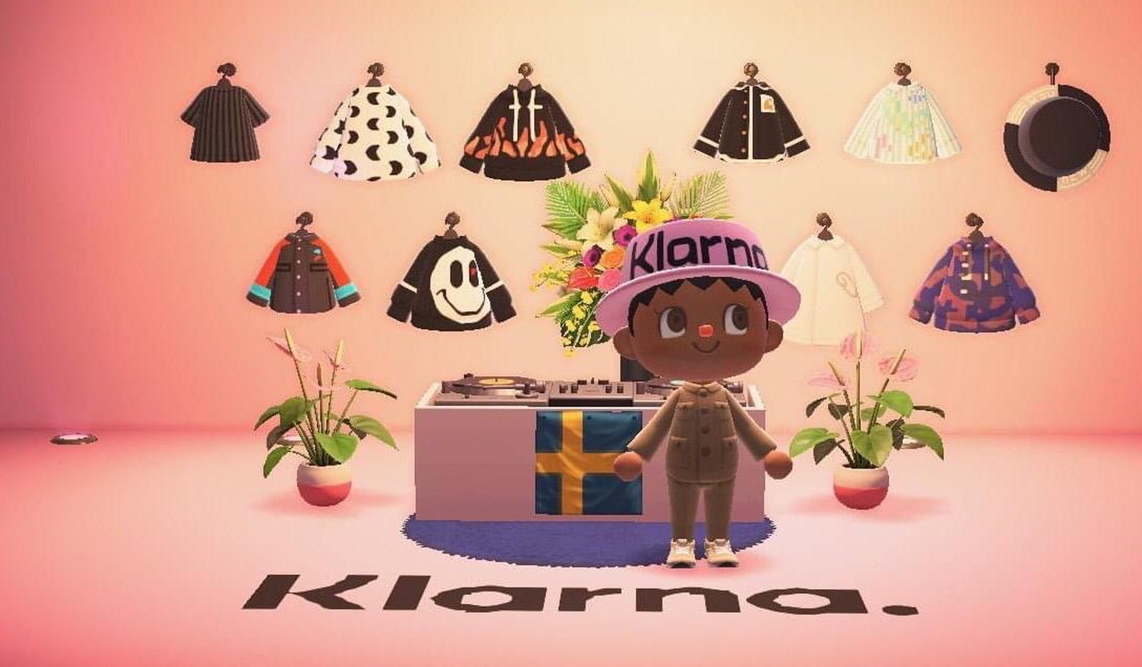 Swedish shopping app Klarna partners with 'Animal Crossing' on an upcoming virtual pop-up shop.