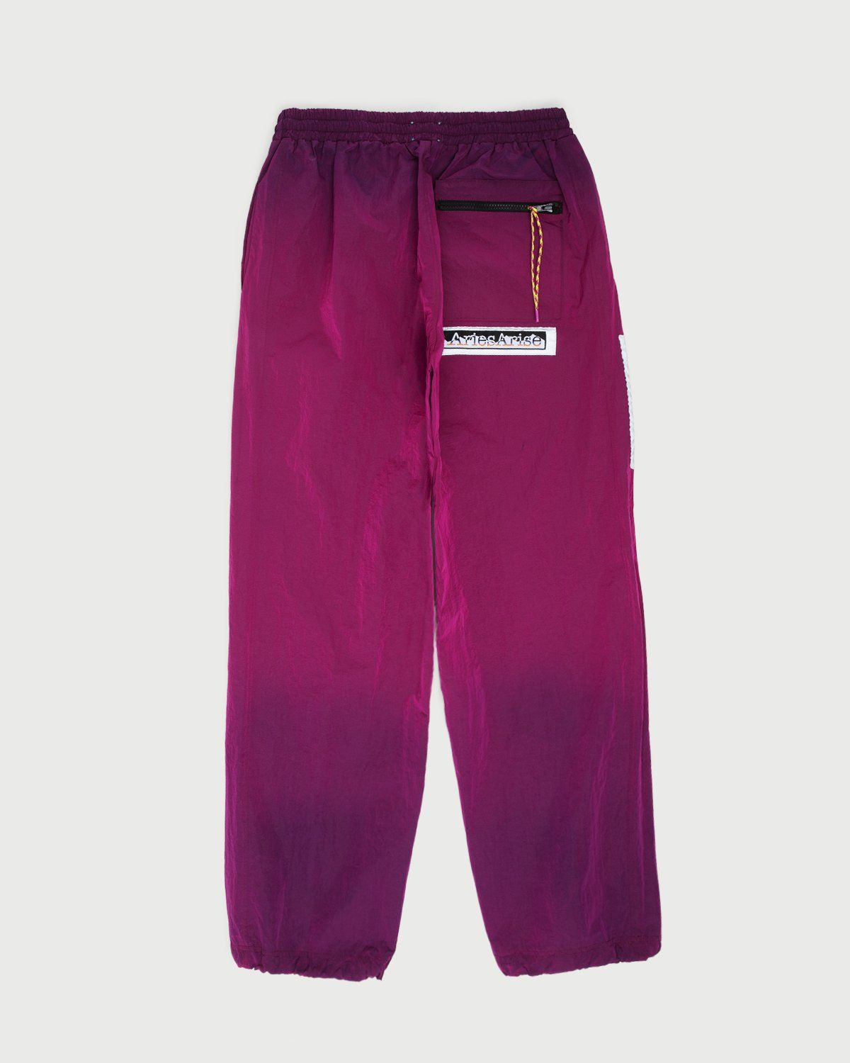 Aries — Ombre Dyed Track Pants Fuchsia - Image 4