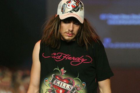 reputable site d8aca b1dde How Ed Hardy Invented 21st-Century Fashion