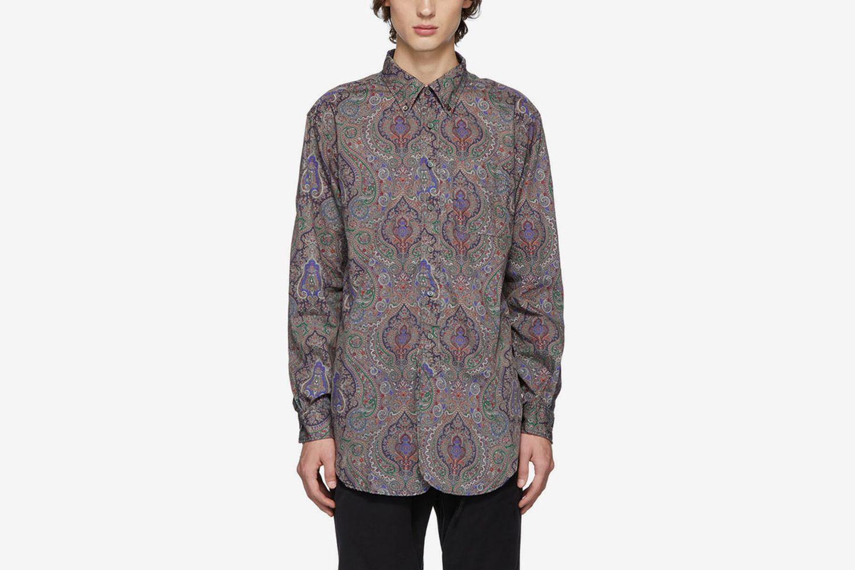 Multicolor Century Paisley Shirt
