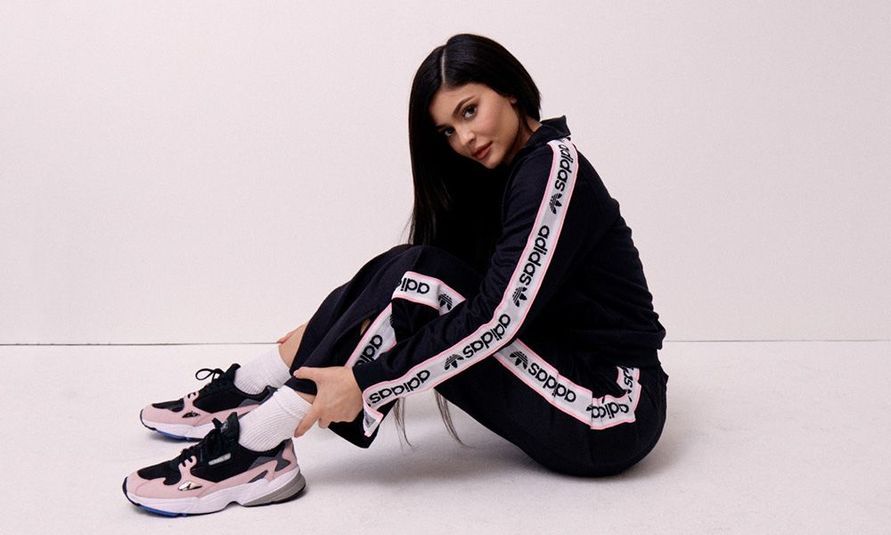 20501117426e91 Kylie Jenner Is The New Face Of adidas Originals  Falcon Campaign