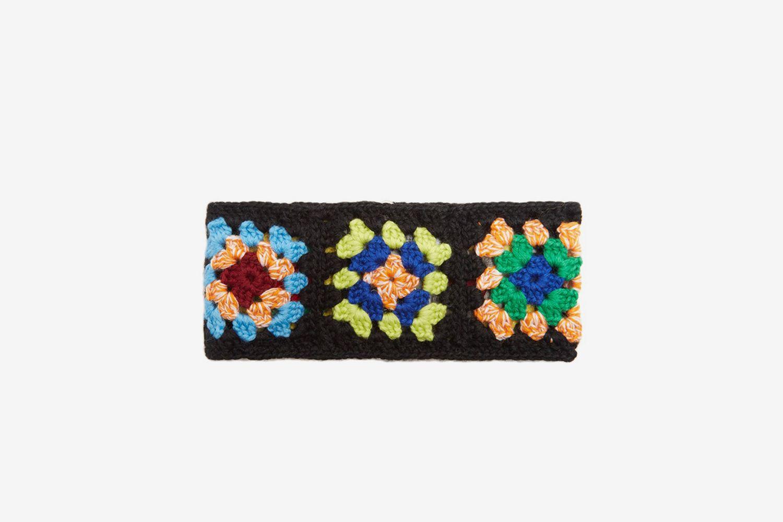 Zip-through Wool-blend Neck Band