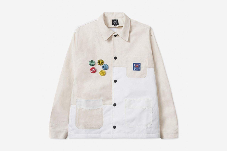 Paneled Chore Coat