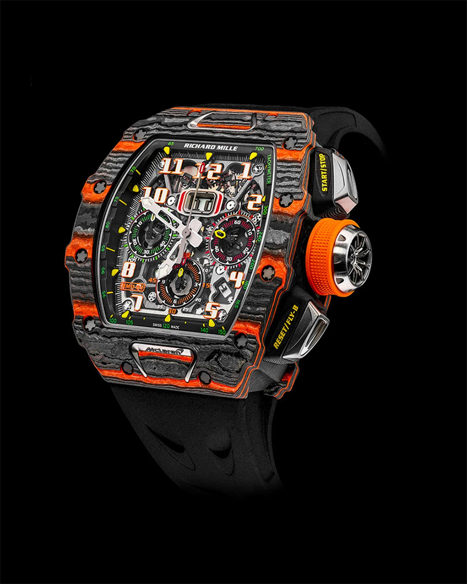 Richard Millie RM 11-03 Automatic Winding Flyback Chronograph Mclaren.