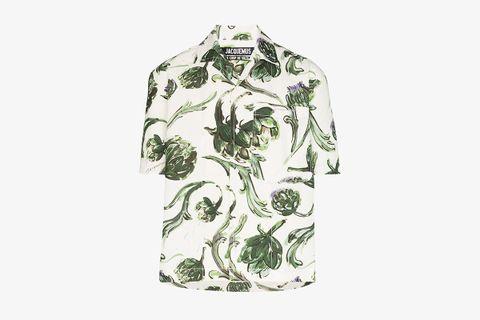 La Chemise Jean Floral Shirt