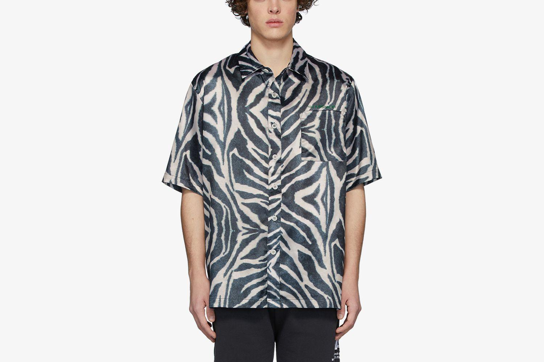 Zebra Boxy Shirt