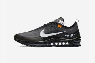 sports shoes b85db 54e5b OFF-WHITE x Nike Air Max 97 Black   Menta  Sold Out Everywhere