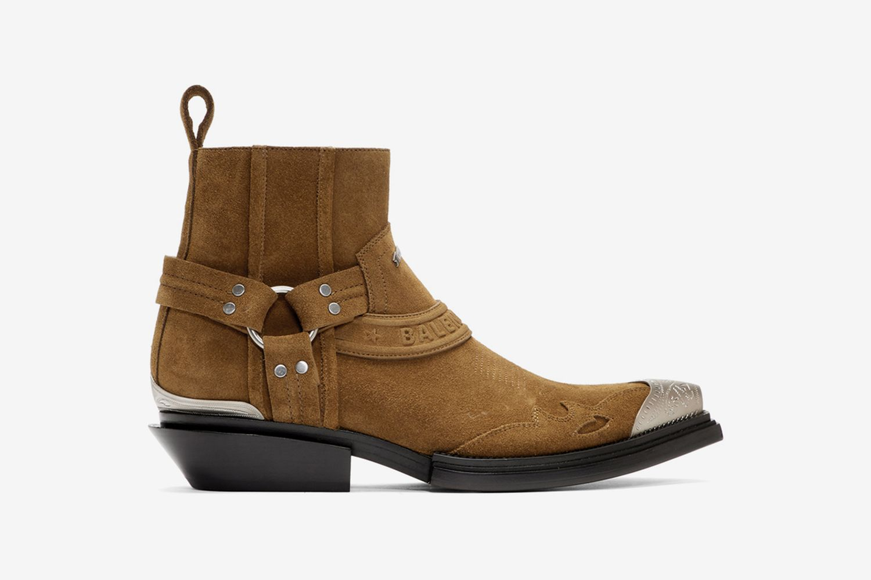 Santiag Harness Booties