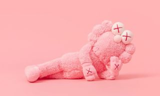 The KAWS Pink Plush BFF Is Already Reselling for 800% More Than Retail