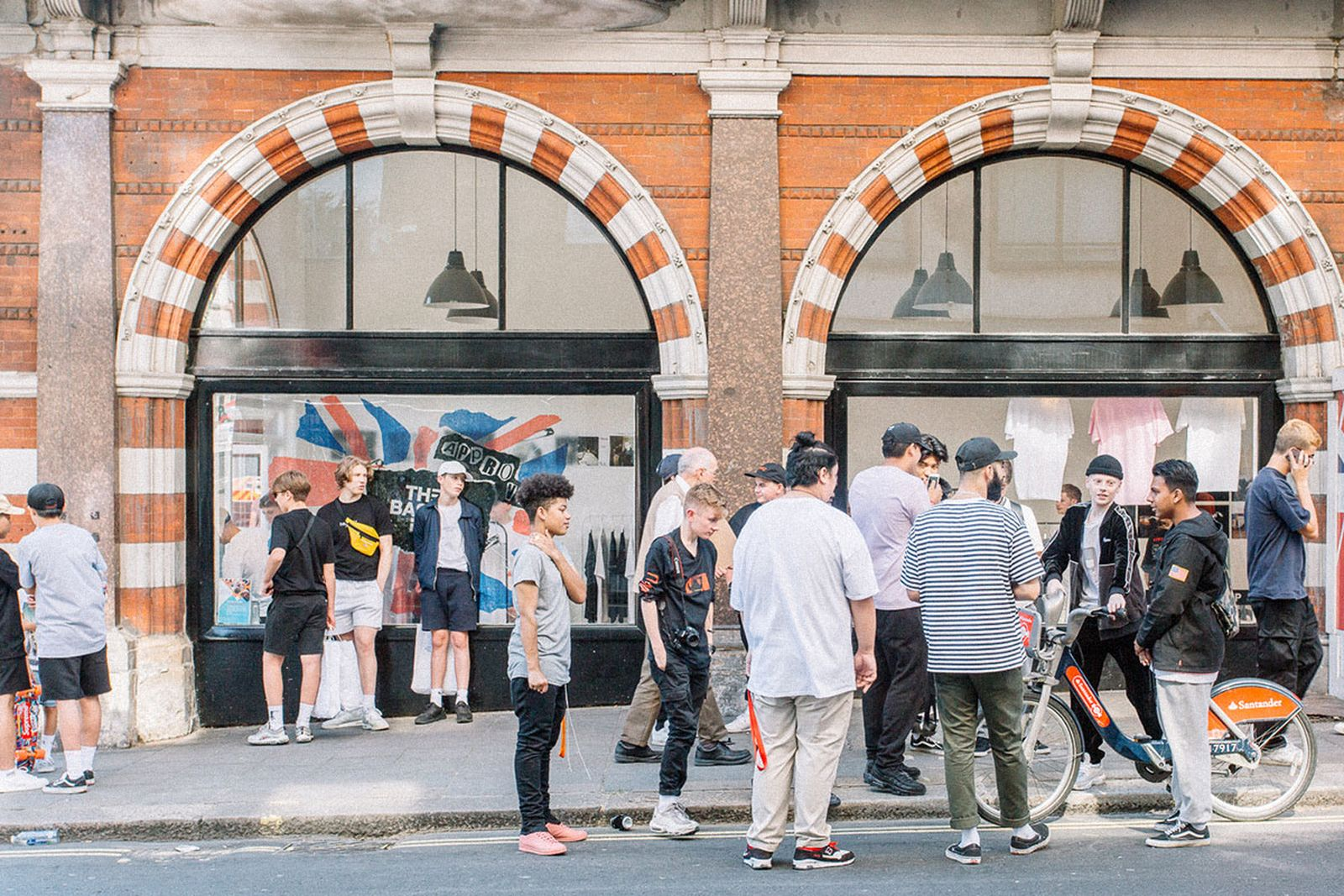 The Basement London pop-up shop .
