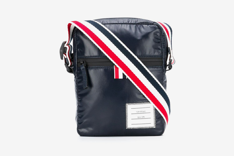 Logo-Strap Messenger Bag