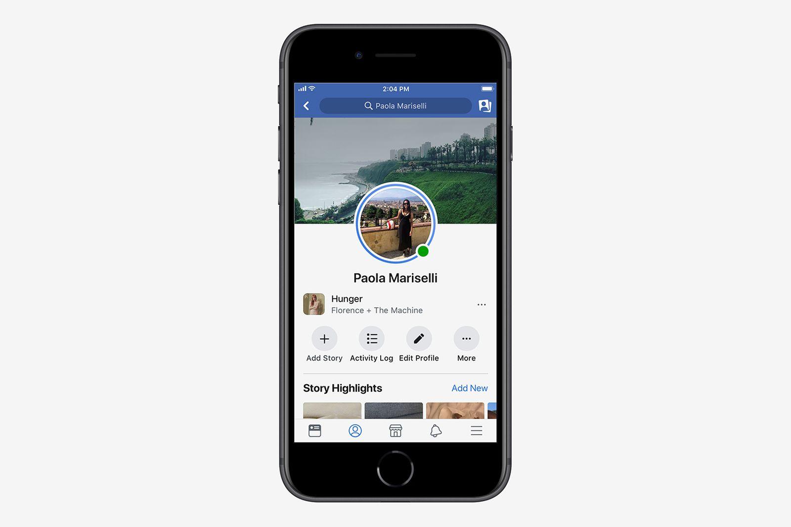 facebook music features update