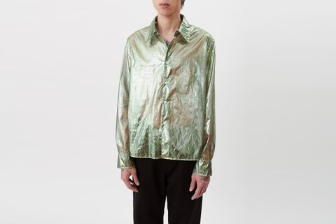 Transparent Glossy Shirt
