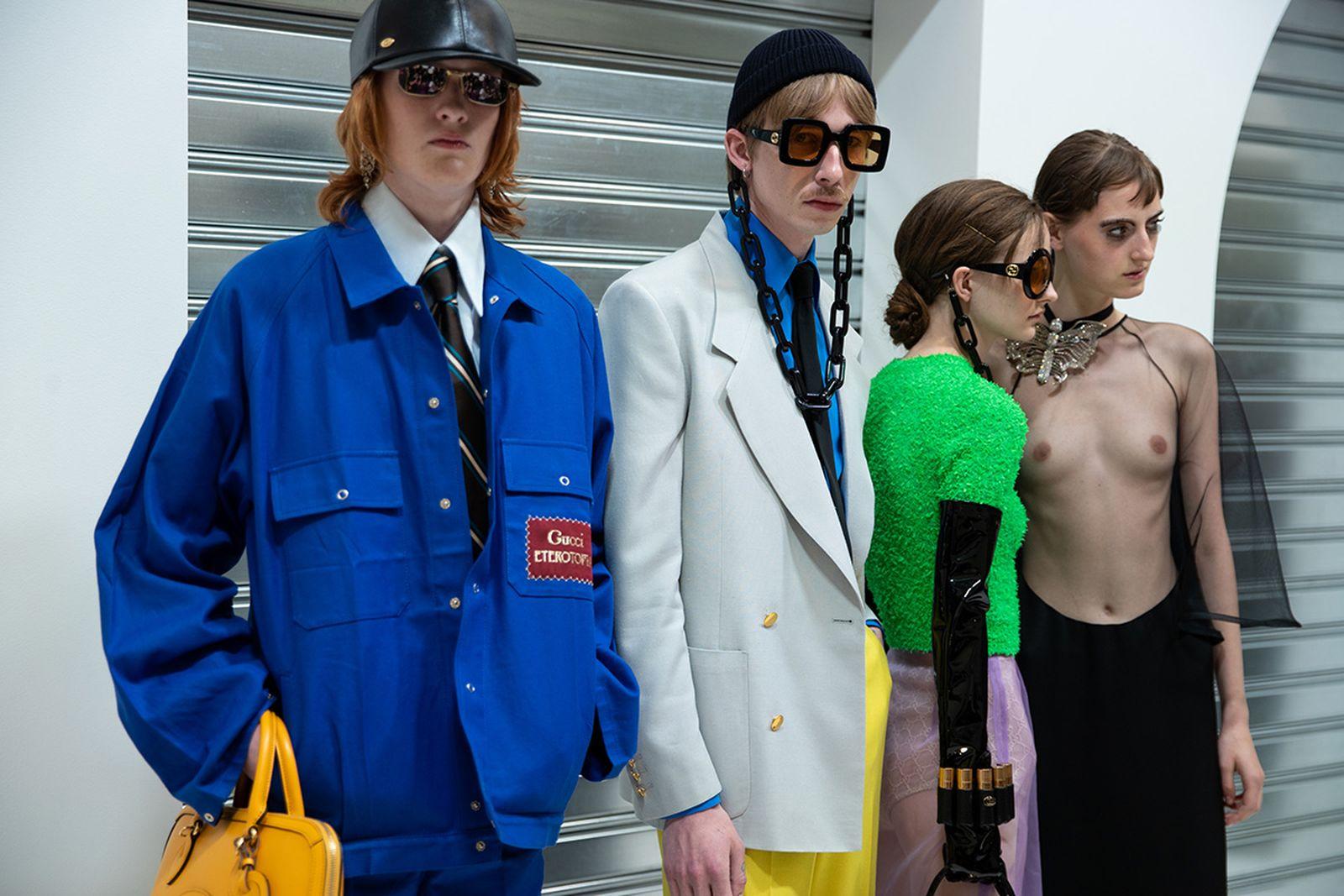 gucci ss20 Alessandro Michele milan fashion week runway