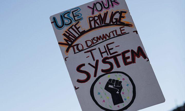 Black Lives Matter placard