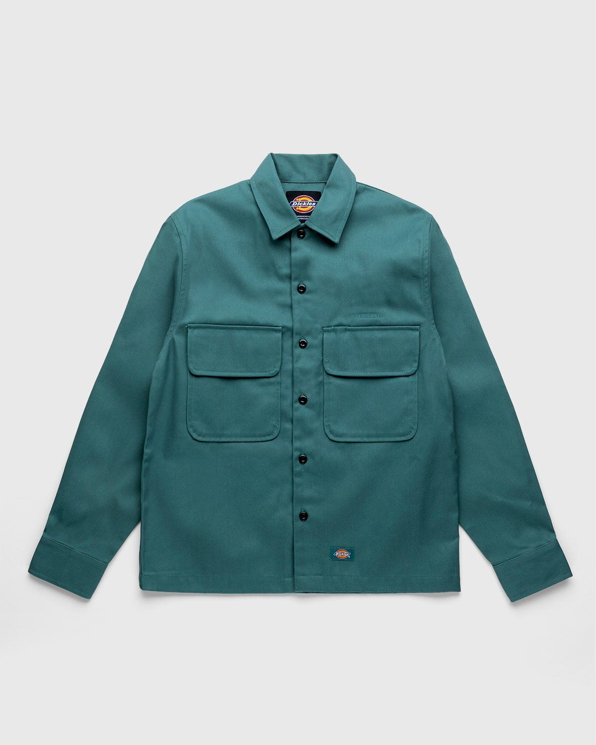 Highsnobiety x Dickies – Service Shirt Lincoln Green - Image 1