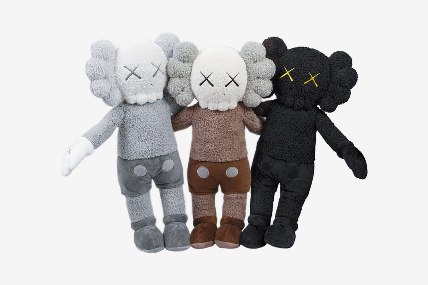 Holiday Plush (Set of Three), 2019