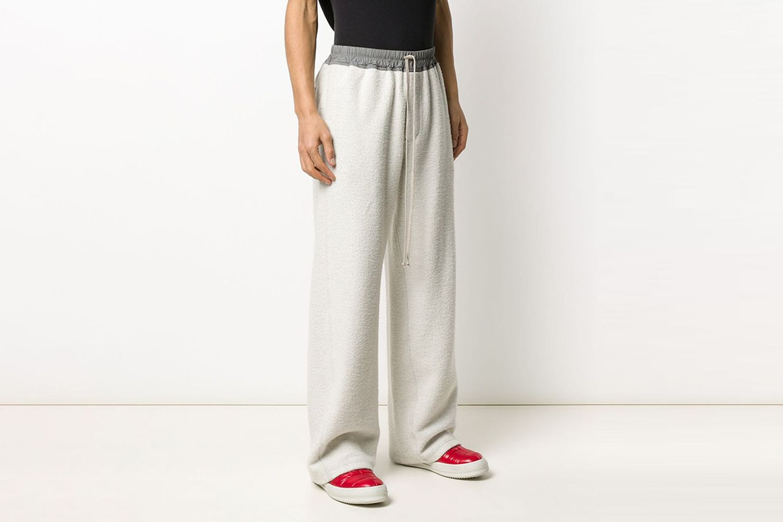 Drawstring Baggy-Fit Track Pants