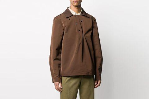 Snap-Button Lightweight Jacket
