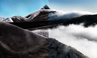 Fashion & Landscapes Converge in This Diptych Photo Series