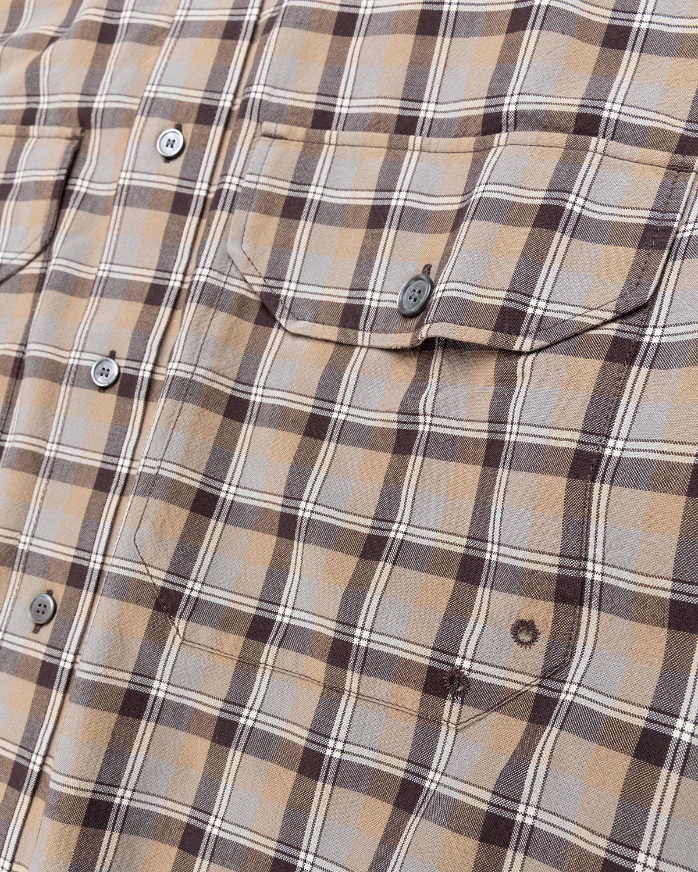Acne Studios – Checked Shirt Brown - Image 4