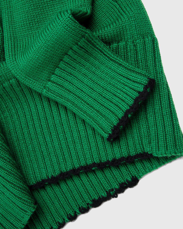 Maison Margiela – Summer Camp Sweater Green - Image 5
