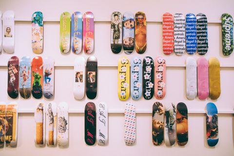 Sotheby's Supreme Skate Decks art collecting sothebys