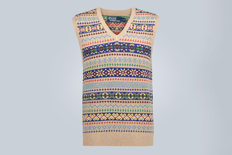 Saranac Lake Knitted Vest